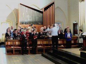 parochiekoor-Rijen